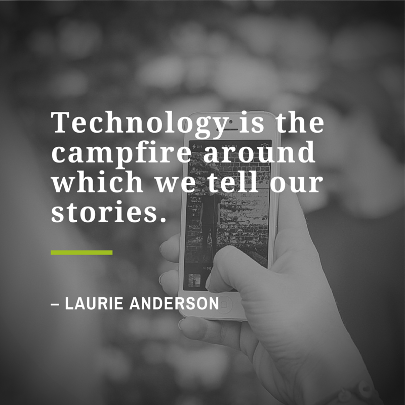 Technology is the campwire around which