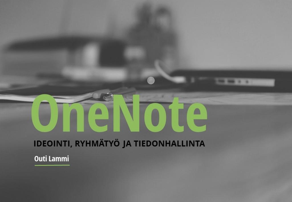 OneNote 2016 -opas
